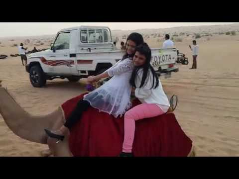Camel Ride by Amu (Dubai Desert Safari)
