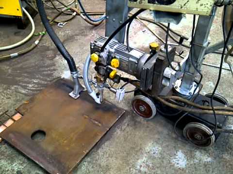 Welding Equipment: ESAB A6 SAW Tractor With Flux Recovery