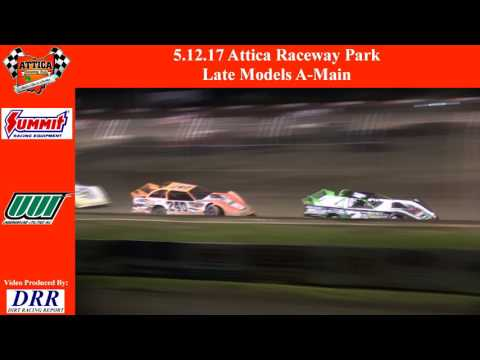 5.12.17 Attica Raceway Park Late Models A-Main