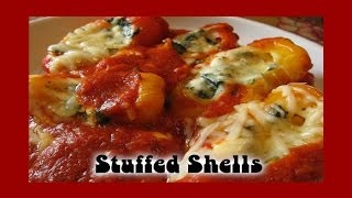Stuffed Shells ❤ Recipe By Rocky Barragan