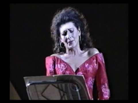 "Lucia Aliberti, S. Mercadante ""Salve Maria"" Conductor: Claudio Scimone."