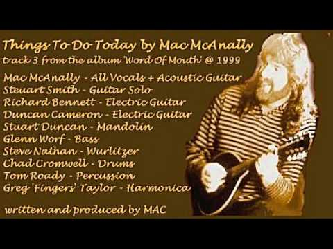 Mac McAnally - Things To Do Today (1999)