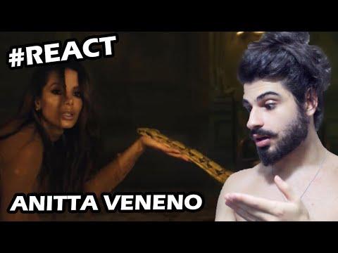 Anitta - Veneno REACTION  Reação + comentáios