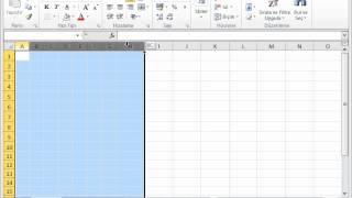 MİCROSOFT EXCEL 2010 GÖRSEL VİDEO EĞİTİMİ -Excel 2010'a Giriş