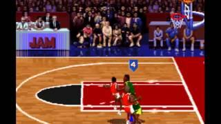 NBA Jam: Old School Edition (Supersonics vs Bulls) & NHL Open Ice (Blackhawks vs Lighting)
