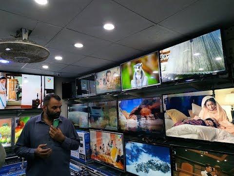 Imported Low Price Smart LED TV In Jackson Electronic Market Karachi