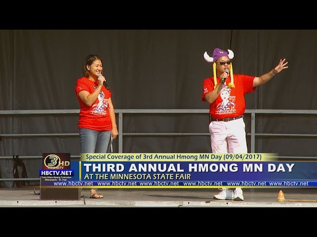 3HMONGTV EHOUR:  Part 1- Third Annual Hmong MN Day at the MN State Fair.