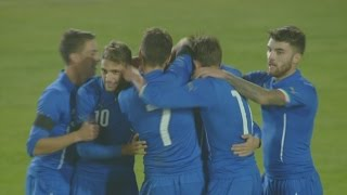 Highlights Under 21: Italia-Lituania 2-0 (17 novembre 2015)