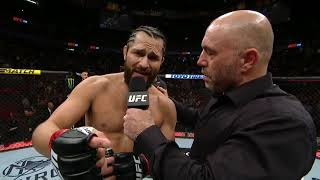 UFC 239: Jorge Masvidal Octagon Interview