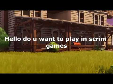New Fortnite Scrims Discord For Pc And Xbox