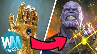¡Top 10 ERRORES del MCU que Marvel QUIERE QUE OLVIDES!