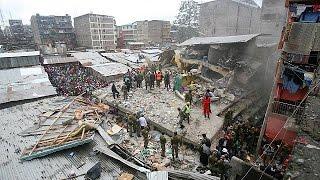 Κένυα: Τουλάχιστον 12 νεκροί και 134 τραυματίες από κατάρρευση κτιρίου στο Ναϊρόμπι