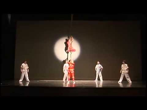 Troupe of Acrobatics of National Taiwan College of Performing Arts【Bamboo Pole Acrobatics】