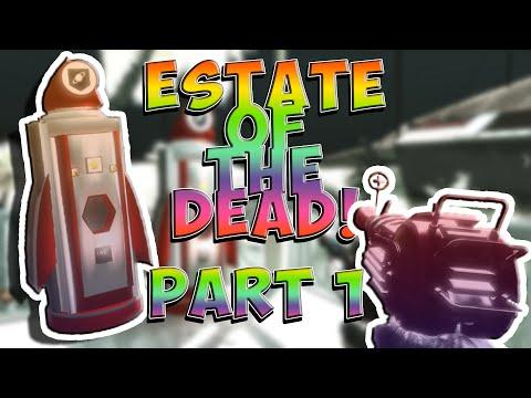 WaW Custom Maps: Estate Of The Dead *GRAVITY PERK!* (GTA5 Map)