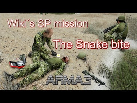 ARMA 3 Wiki´s SP mission The Snake bite by Wiki 100% Original gameplay