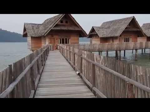 Telunas Private Island in Riau, Indonesia