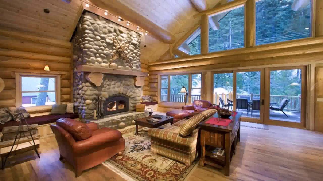Charmant Mountain Home Living Room Design