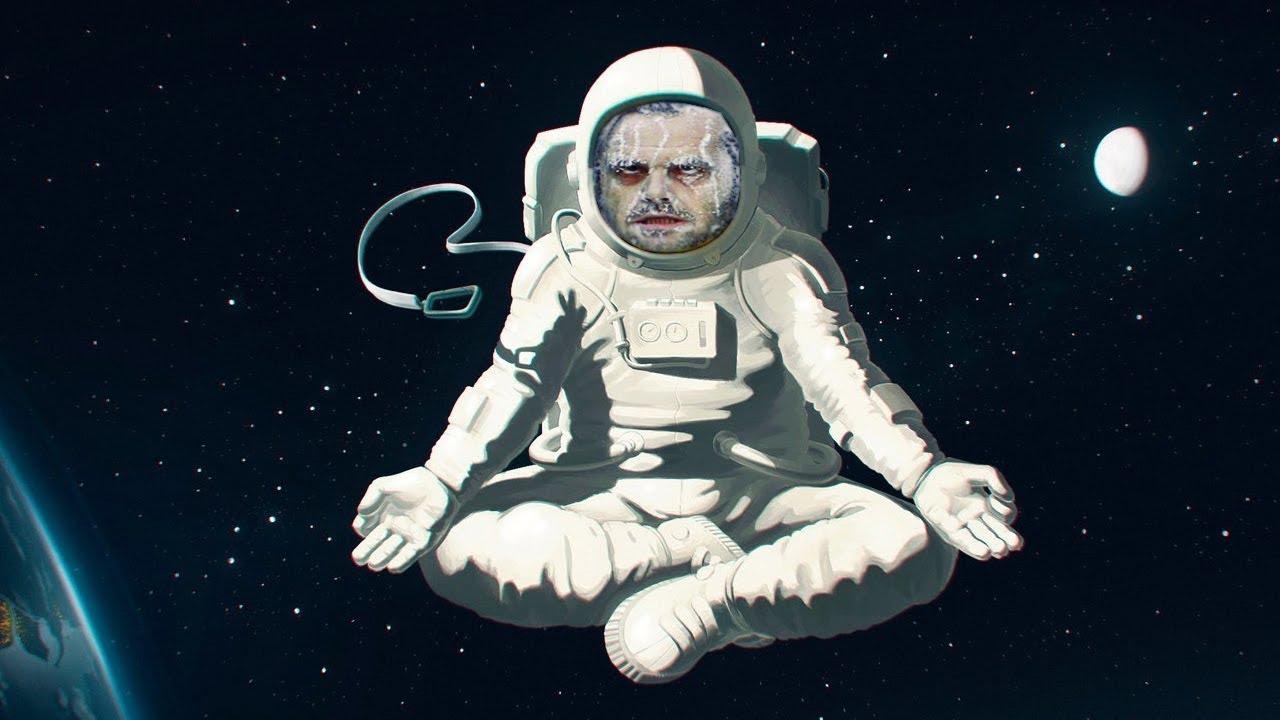 Летом, прикольные рисунки на тему космос