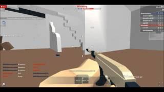 Roblox Authority - AK47 Rushing Gameplay