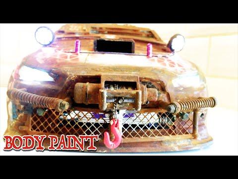 RC DRIFT CAR - POST APOCALYPTIC CAR - Lexan Body Modified [PART 1/2]