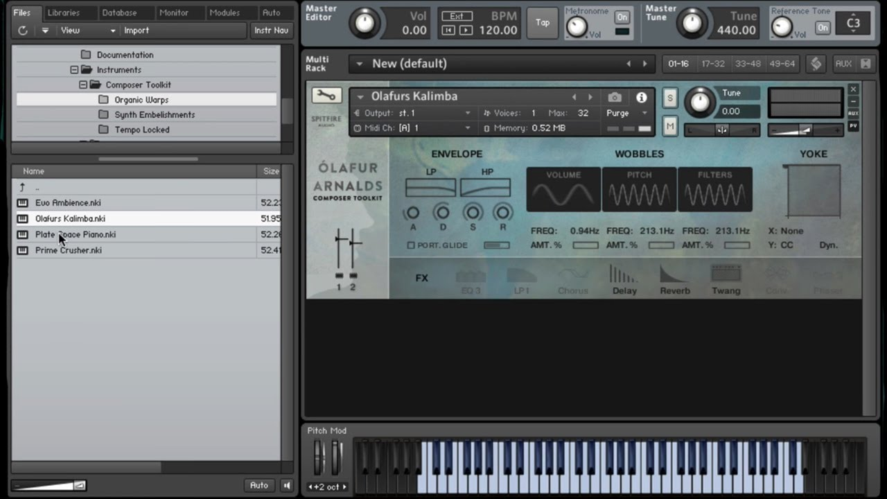 Spitfire Walkthrough Olafur Arnalds Composer Toolkit Youtube