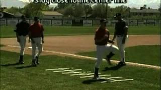 Running Grid Drills for Baseball Agility