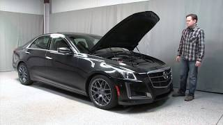 2014 Cadillac CTS V-Sport - Video Test Drive with Chris Moran