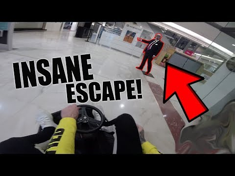 *CAPTURED* CRAZY KART INSIDE A MALL!