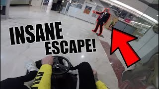 *CAPTURED* CRAZY KART INSIDE A MALL! thumbnail