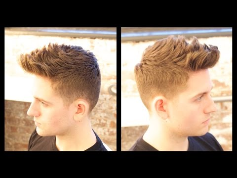 Mens Haircut Tutorial Male Model Haircut Thesalonguy Youtube