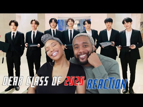 BTS COMMENCEMENT SPEECH | DEAR CLASS OF 2020 | COUPLES REACTION | REED REACTS. |