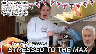 Attempting Great British Bake Off Week 1 Challenges