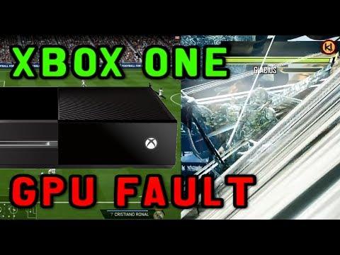MY XBOX ONE Problem Day One GPU Fault
