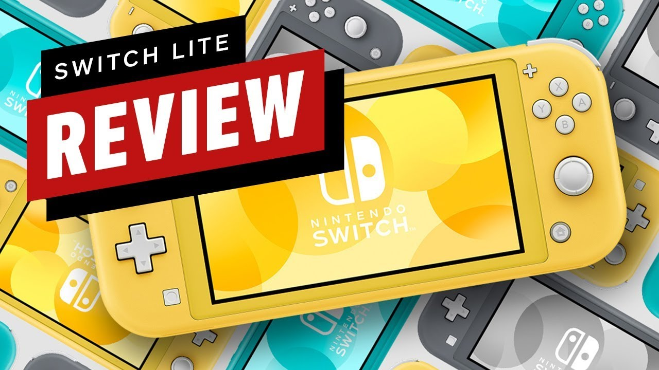 Nintendo Switch Lite Review Youtube