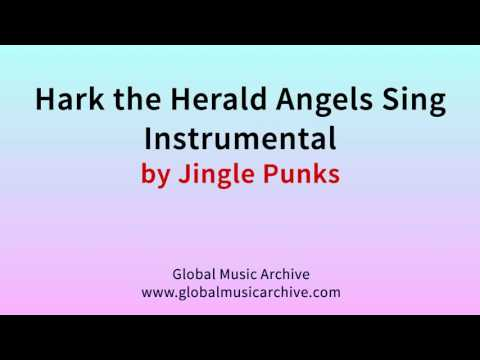 Hark the herald angels sing instrumental by Jingle Punks 1 HOUR