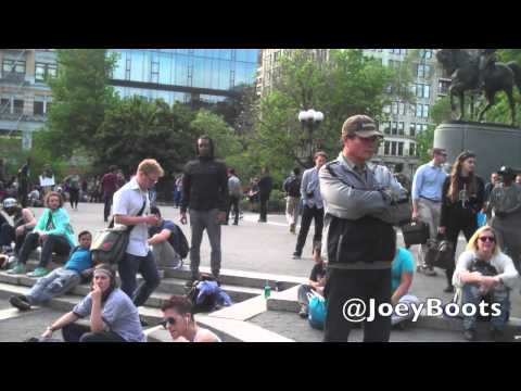 Five-Percenter Racists at Union Square Starting Shit