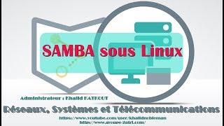 SAMBA sous Linux (KHALID KATKOUT)