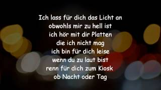 Revolverheld - Ich lass für Dich das Licht an Lyrics [HQ & HD]