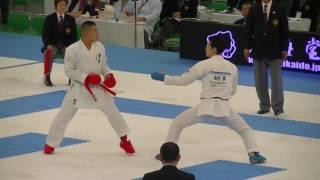 2016 JKF All Japan 渡邊大輔 vs 西村拳 D.Watanabe vs K.Nishimura