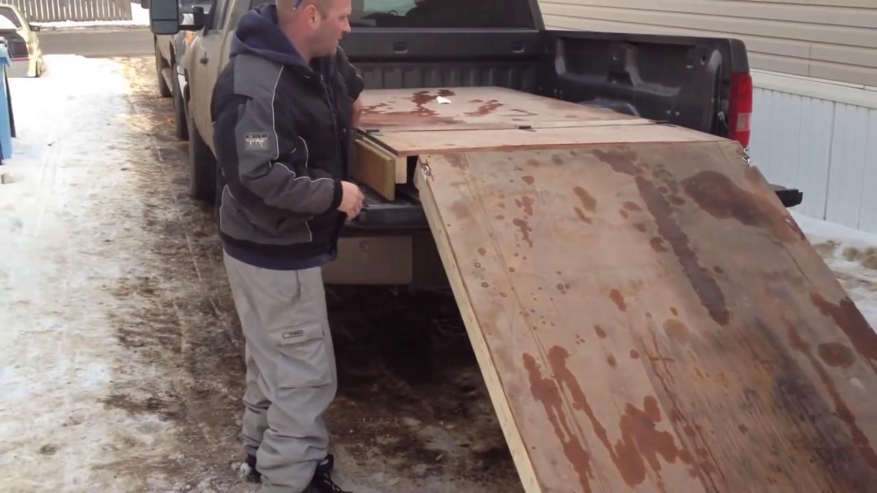 Homemade Sled Ramps Youtube