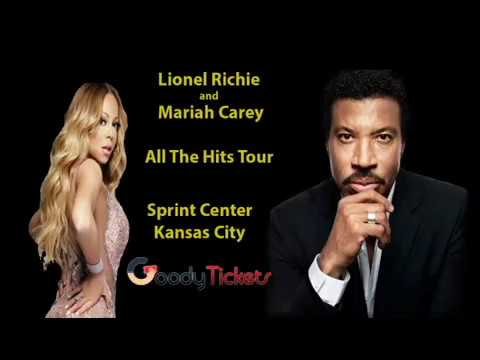 Lionel Richie and  Mariah Carey Concert Tickets Sprint Center Kansas City  - GoodyTickets