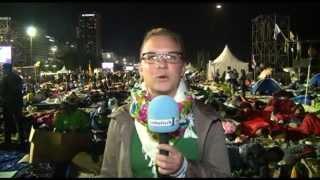 Millionen Pilger feiern Vigil an der Copacabana