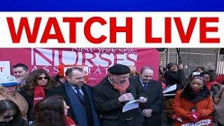 NYC nurses' union announces strike