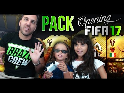 PACK OPENING CON LE MIE FIGLIE - FIFA 17