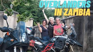 Time to Socialize! Overlanders Meet Up in Zambia - EP. 106