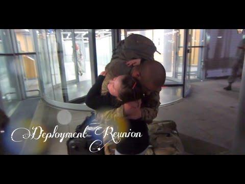6 MONTH AIR FORCE AIRMAN DEPLOYMENT REUNION! - September 13, 2014 - usaaffamily vlog