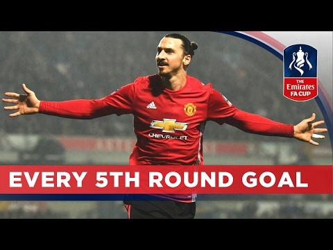 Все голы 1/8 финала Кубка Англии