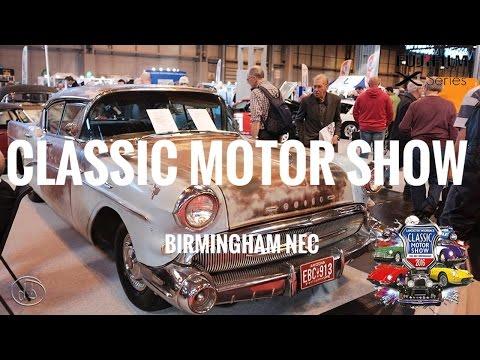 Classic Motor Show Birmingham NEC 2016 UNCUT
