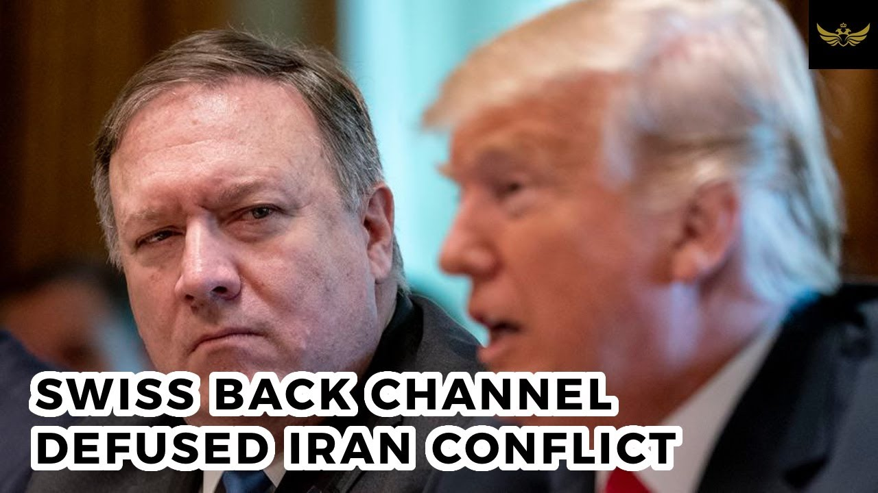 CONFIRMED, Trump White House used Swiss back channel to de-escalate Iran conflict