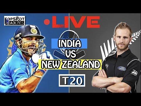 Cricket LIVE Score, India vs New Zealand, 1st T20I at Delhi, Full Scores
